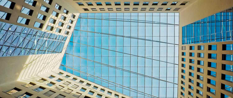 Foto av glasstak